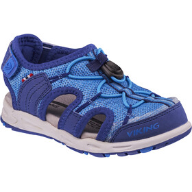 Viking Footwear Thrill II Sandals Kinder dark blue/blue
